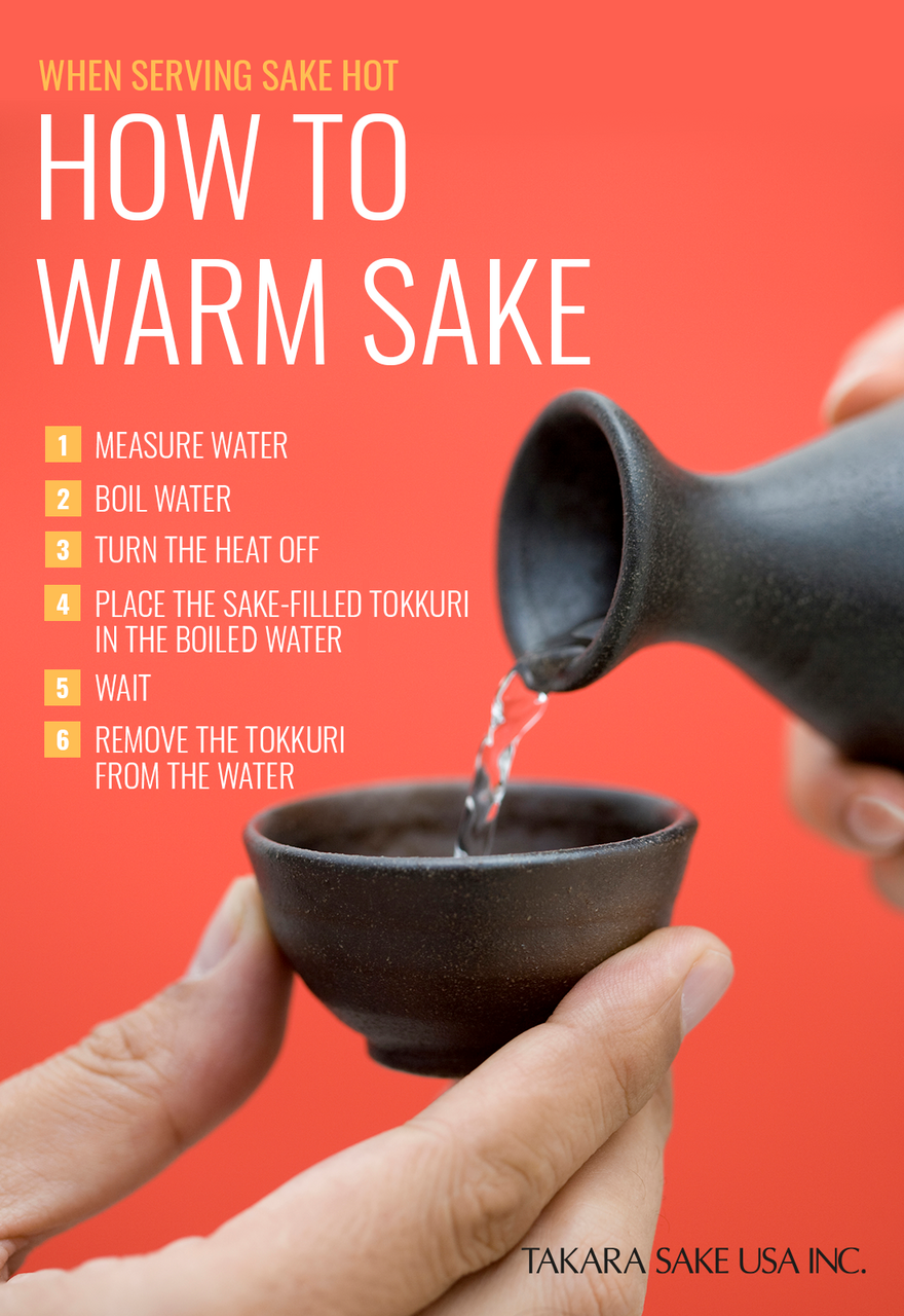 how to warm sake